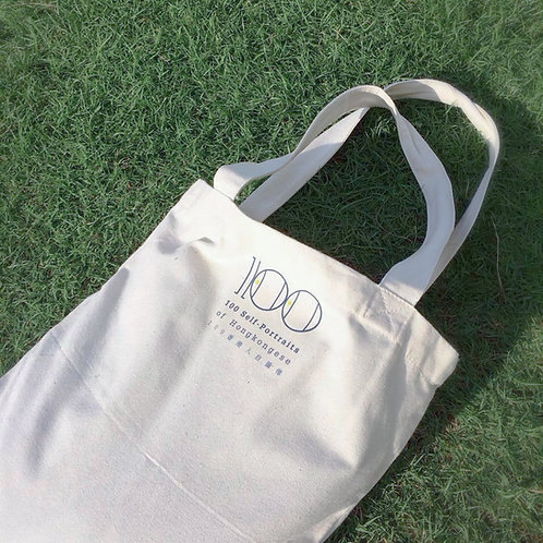 """100 Self-Portraits of Hongkongese"" tote bag"