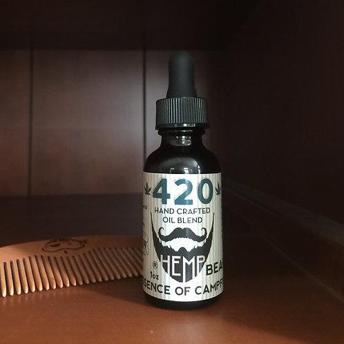 Essence of Camp Fire Beard Oil