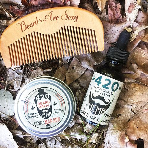 Beard Oil + Balm Combo