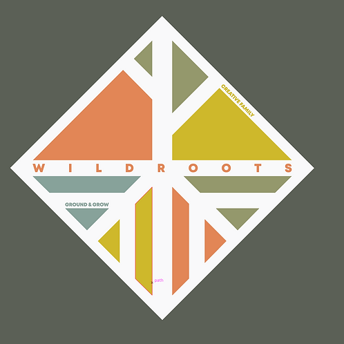 Wildroots Sticker