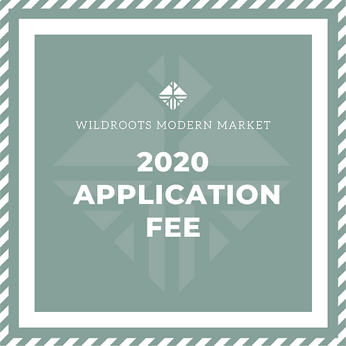 2020 Application Fee