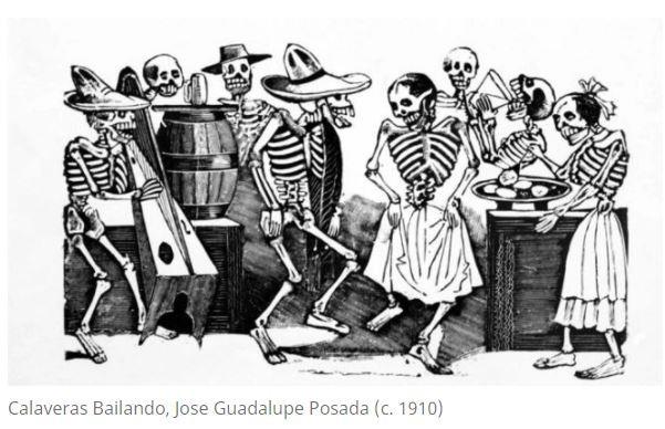 ¿De dónde vienen las famosas calaveras? Conoce la historia del hidrocálido que las creó, José Guadal