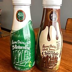 Large Regular or Chocolate Milk
