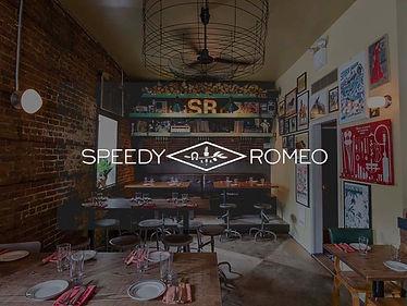 2 virtual Martinis at Speedy Romeo's