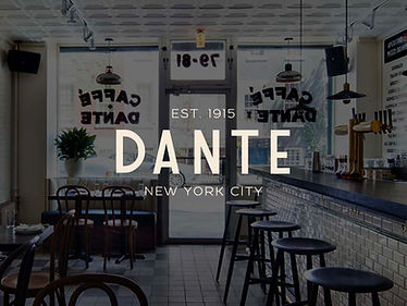2 Negronis at Dante NYC
