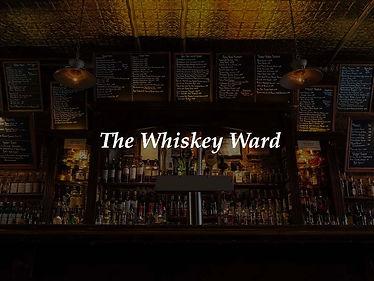 2 House Manhattans at Whiskey Ward