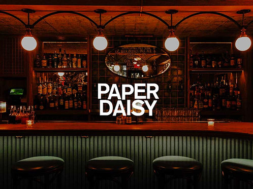 Two Rounds of Mezcal Coladas at Paper Daisy