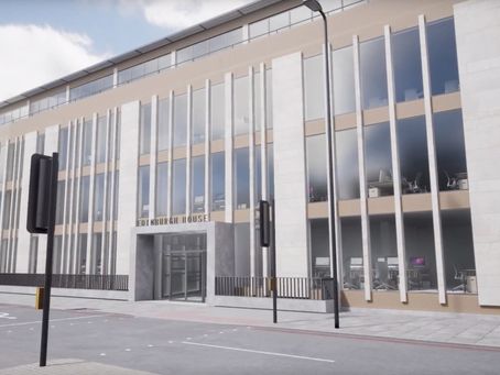 New headquarters - Edinburgh House!