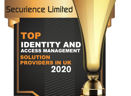 "Securience in ""Top Identity Management Solution Providers in UK"" 2020 - CIOReview Magazine"