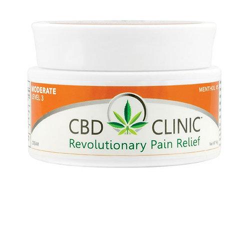 CBD Clinic Level 3 Pain Relief Cream
