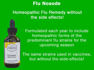 Homeopathic Flu Vaccine - No shot! No Side Effects!