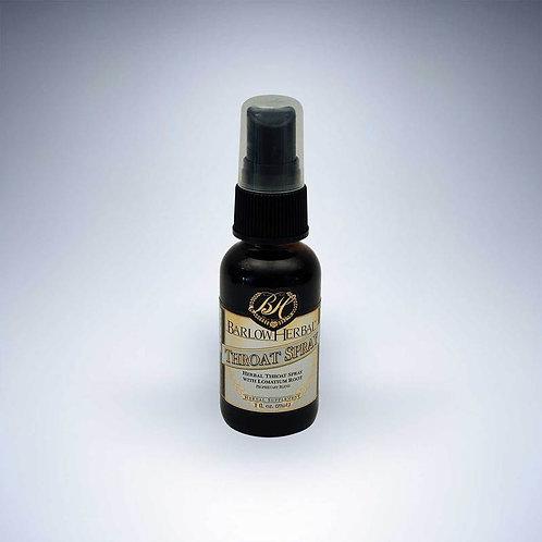 Herbal Throat Spray w/Lomatium, 1 ounce
