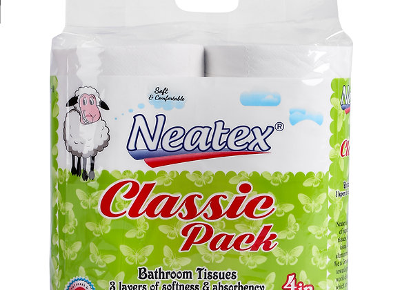 Neatex Toilet Rolls - 4 in1 Pack