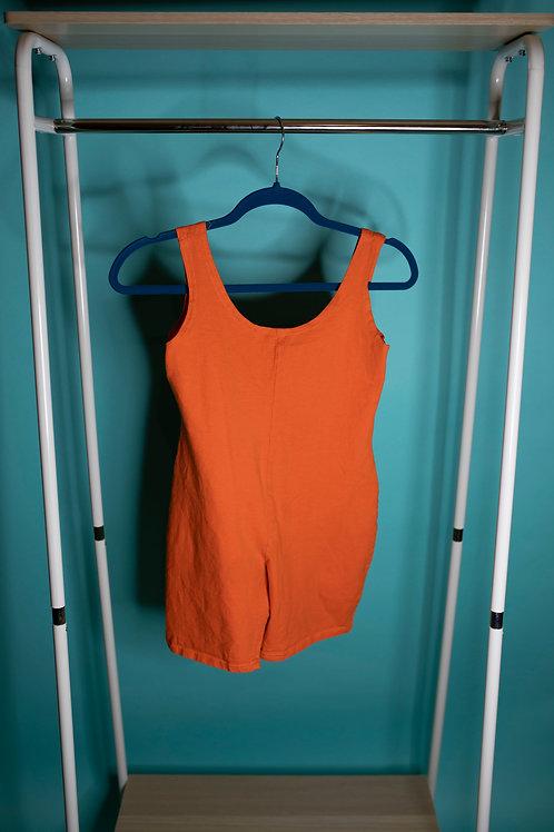 Werk it Orange Playsuit