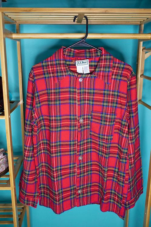 Christmas Plaid Shirt