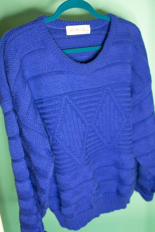 Blue Blue Christmas sweater
