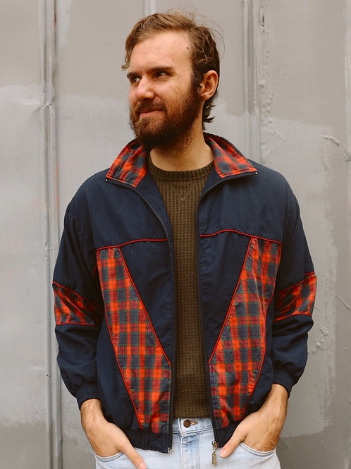 Plaid Guy Bomber