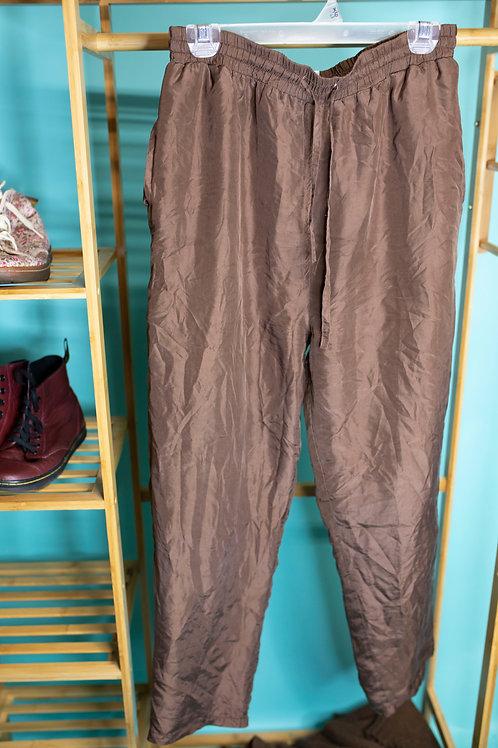 Street Style Brown Pants