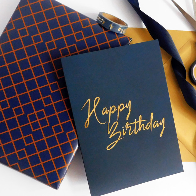 Greeting Card & Wrapping Paper