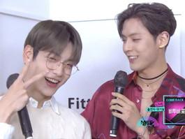 O TXT e o BTOB ficaram maravilhados com a semelhança de Soobin e Minhyuk após sua adorável interação
