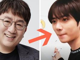 O pedido de desculpas de Beomgyu para Bang Si Hyuk por ter riscado sua parede é muito engraçado