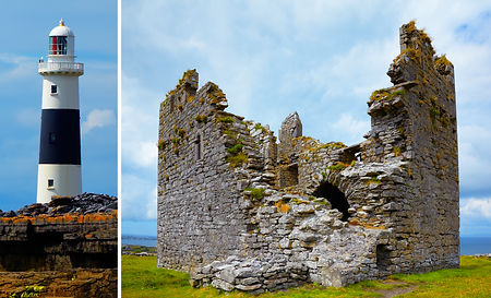 O'Brien's Castle 2 on Inisheer Island. s