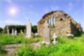 Church Ruins of Hook Church in Ireland C