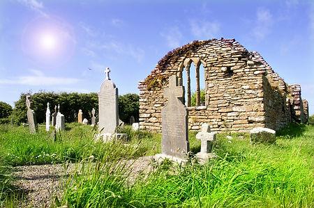 Church Ruins of Hook Church in Ireland C