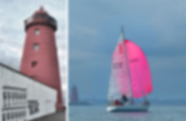Pink sail in Dublin Bay shb.jpg