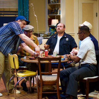 The Odd Couple, from Hope Summer Repertory Theatre's 2018 season.