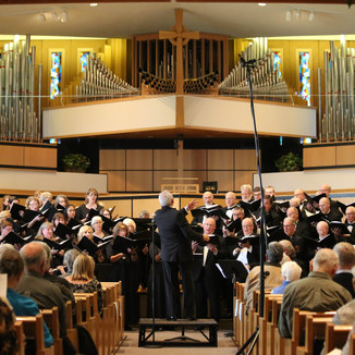 A local Holland Chorale concert in 2018.