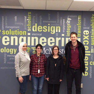 February 2020 - Dr. Claudie Roy visit from National Research Council Canada