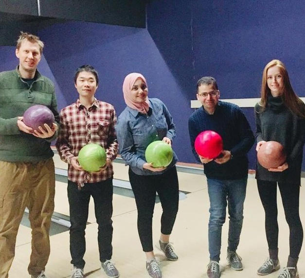 December 2019 - Group bowling party!