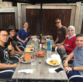 June 2019 - Group lunch at Thirsty Cactus, Dundas