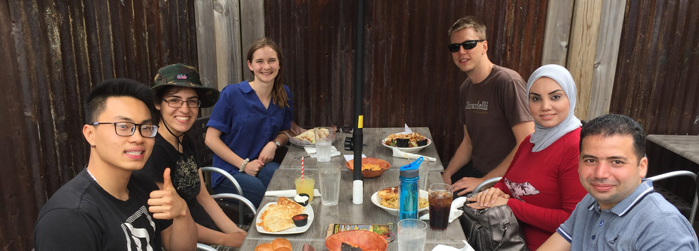 Group lunch at Thirsty Cactus, Dundas (June 2019)