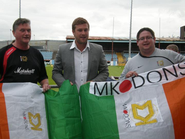 Irish Dons with Karl Robinson