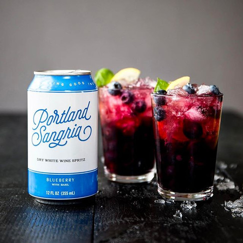 Is it cocktail hour yet_ Here's what we're mixing up this eve__-_Portland Sangria Blueberry Bramble_ Pour 2 oz gin (we love _ariagin), .jpg