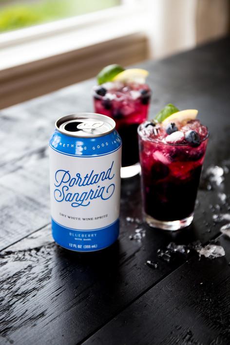 Portland Sangria Blueberry Bramble