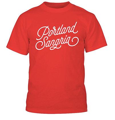 Red Portland Sangria T-Shirt