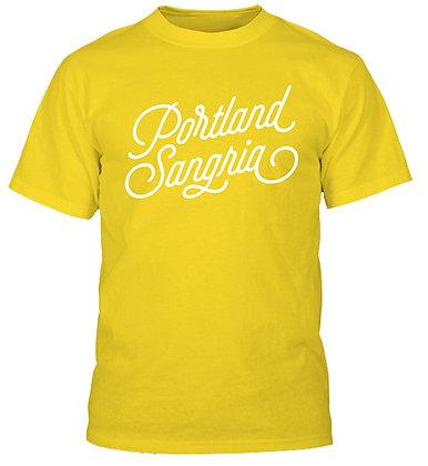 Yellow Portland Sangria T-Shirt