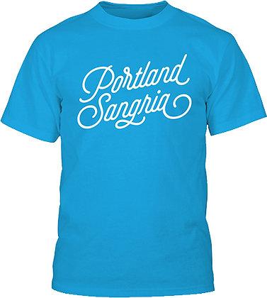 Blue Portland Sangria T-Shirt