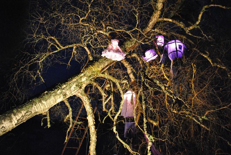 Indigo Car Crash Lamps