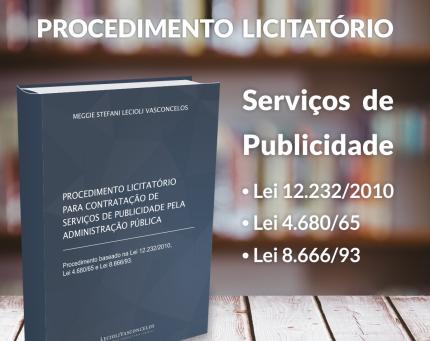 Licitação de Serviços de Publicidade - Download do Ebook
