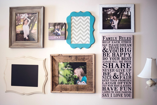 How to Hang Wall Decor Without Getting Divorced