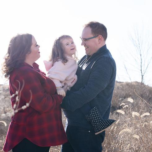 Family photoshoot in Kansas City