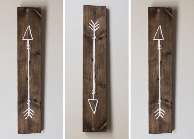 Arrow set of 3