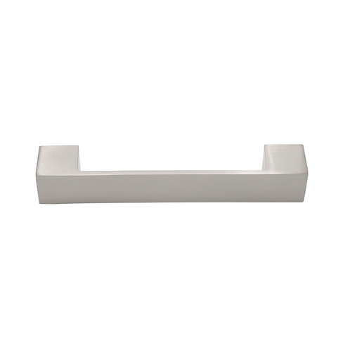 "6"" Solid Brushed Nickel Contemporary Pull"