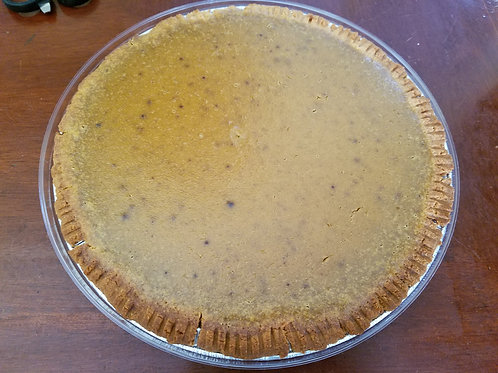 Organic Pumpkin Pie - whole, THANKSGIVING PREORDER