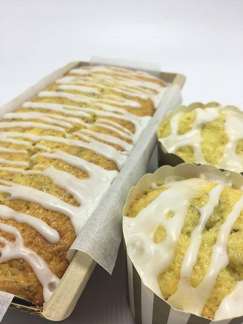 Lemon Zucchini Bread (dairy free) - 1 lb loaf