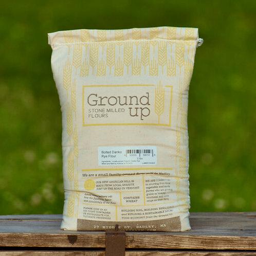 Bolted Rye Flour - 5 lb bag